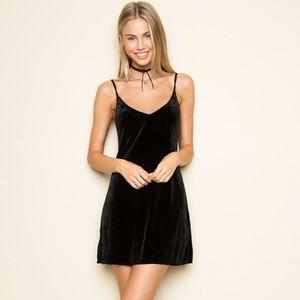 Brandy Jackie Velvet Dress